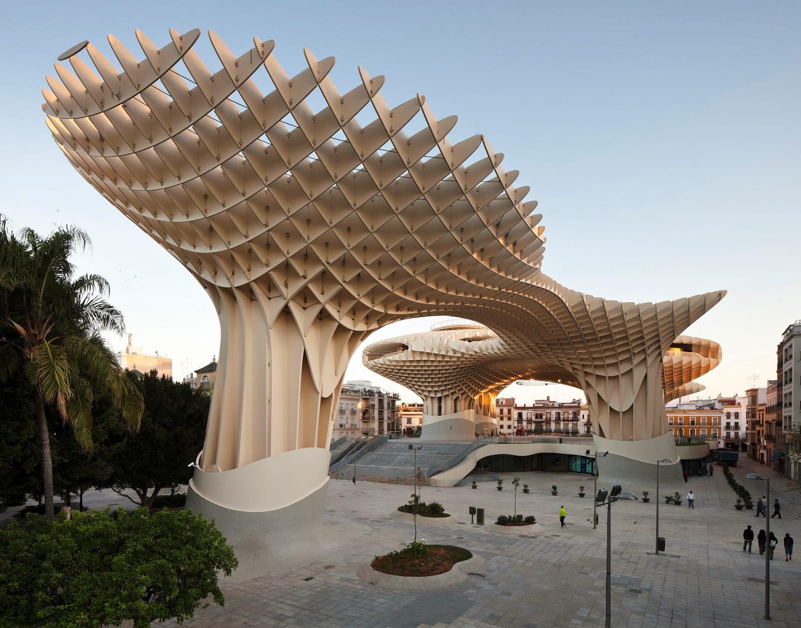 Megaloman a y arquitectura arquitectura para el p blico for Arquitectura parametrica