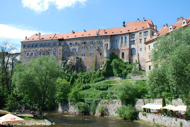Castle at Cesky Krumlov Czech Republic