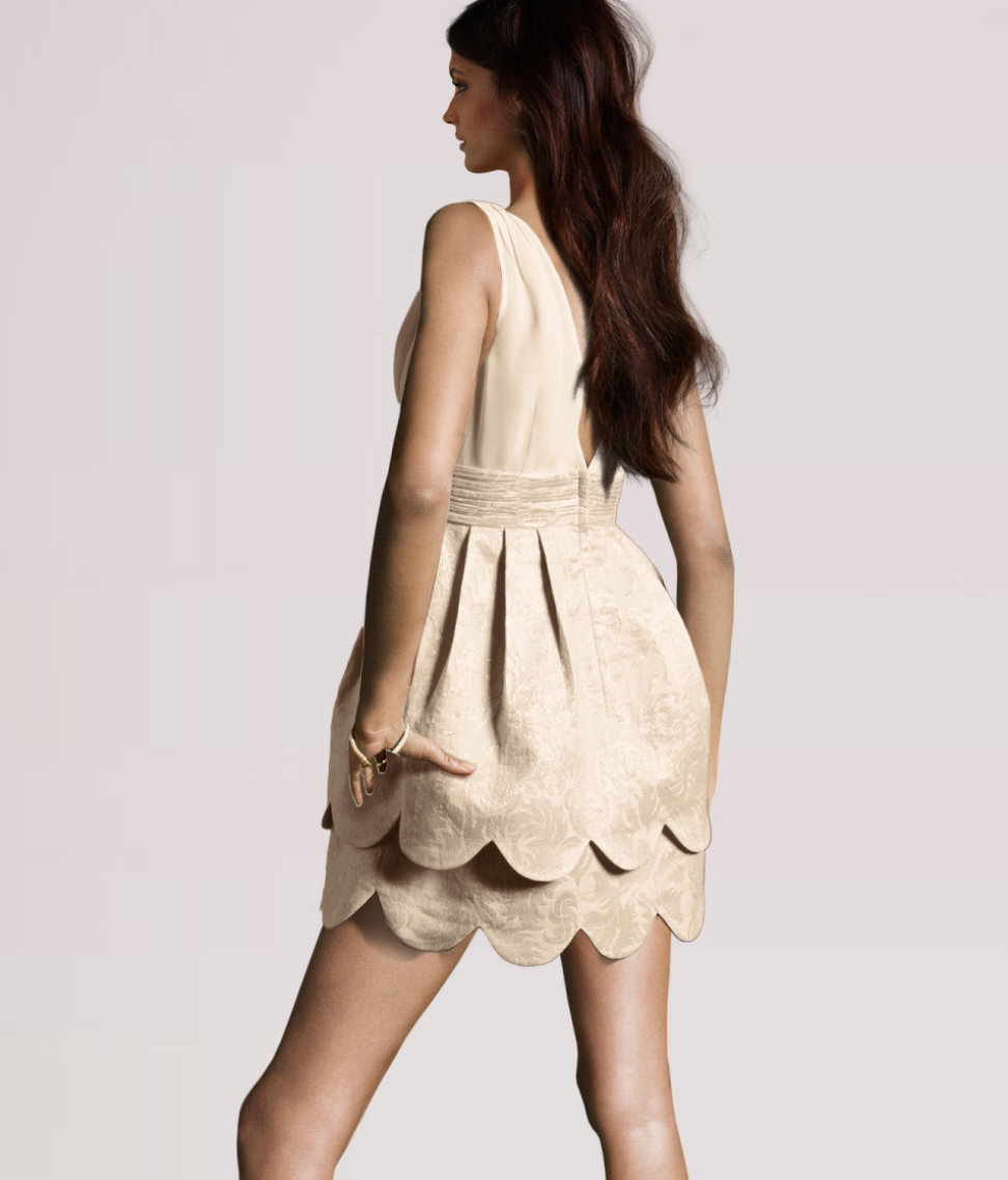 H&M Conscious Collection: H&M Brocade Party Dress ...