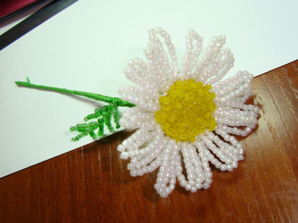 схема цветка ромашки из бумаги