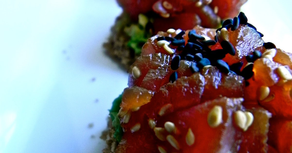 The rosiest cheeks spicy tuna tartare for Whole foods sushi grade fish