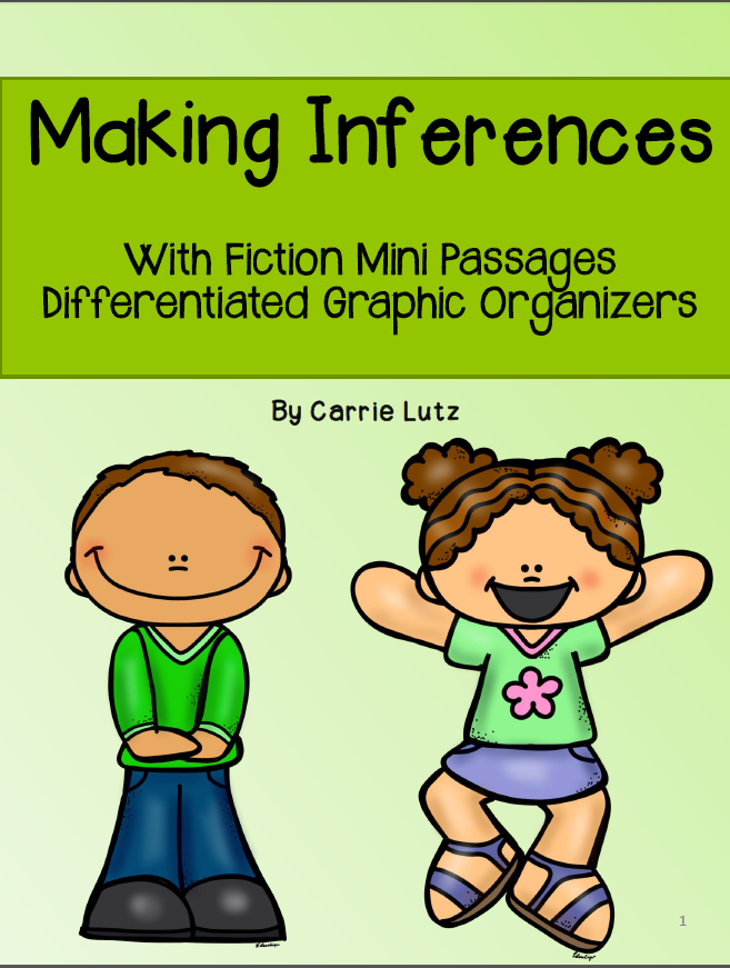 https://www.teacherspayteachers.com/Product/Making-Inferences-14-Mini-Passages-With-Differentiated-Graphic-Organizers-1083744