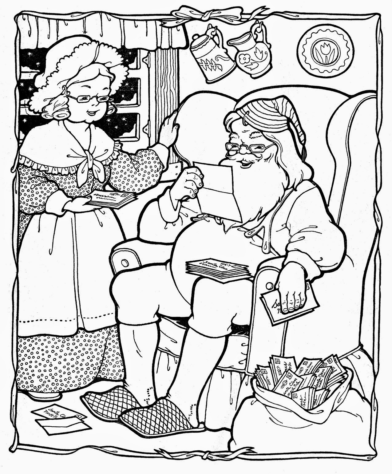 Chrismas coloring pages clip art coloring.filminspector.com