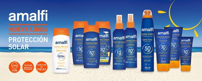 protección solar Amalfi