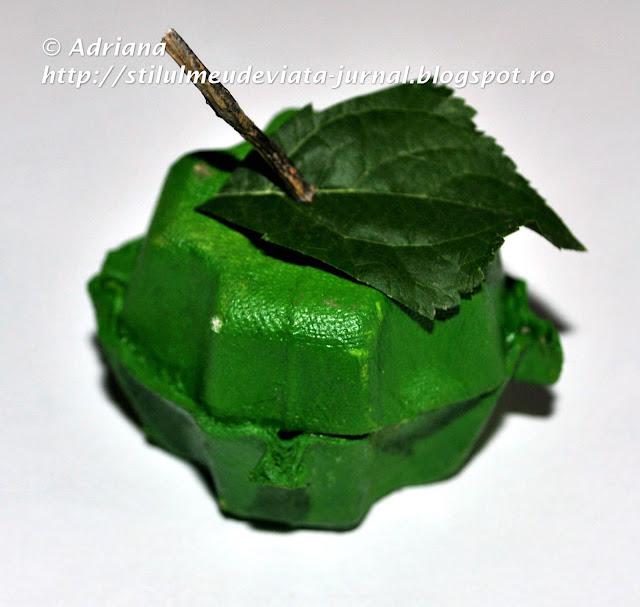 mar verde, craft pentru copii