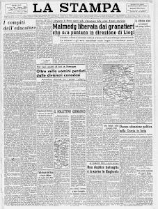 LA STAMPA 20 DICEMBRE 1944