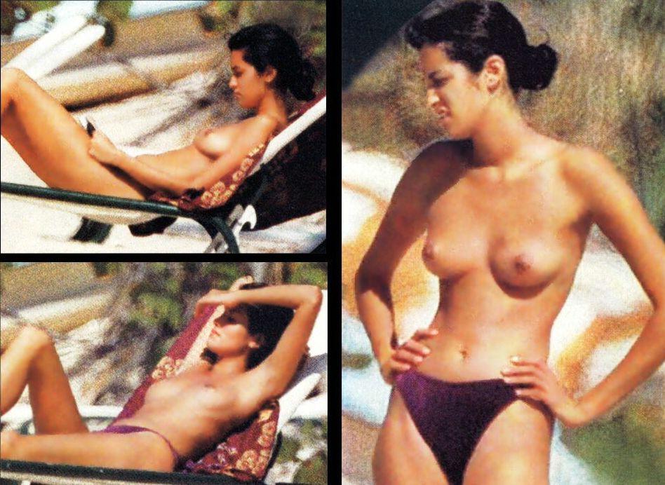 Yasmeen Ghauri  nackt