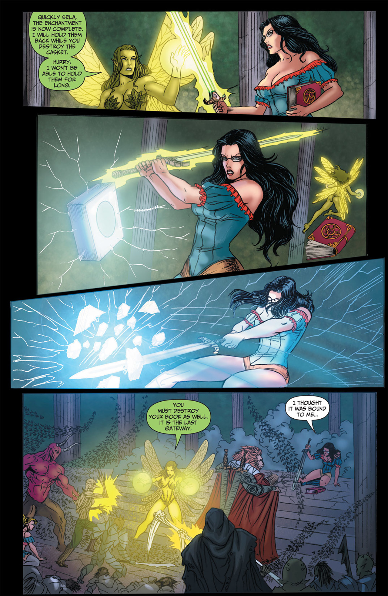 Grimm Fairy Tales (2005) Issue #50 #53 - English 34