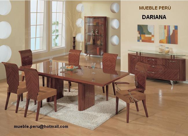 Comedores muebles per comedores modernos for Comedores italianos modernos
