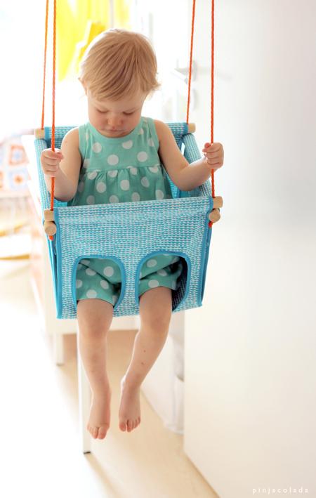 Pinjacolada Diy Child Swing