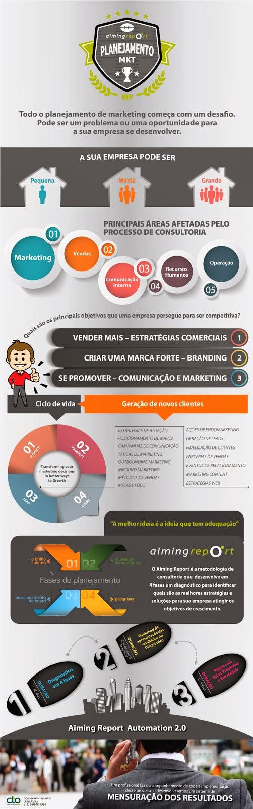 Infográfico - Consultoria de marketing