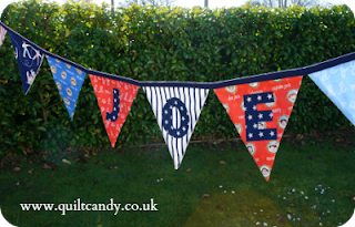 Pirate bunting by www.quiltcandy.co.uk