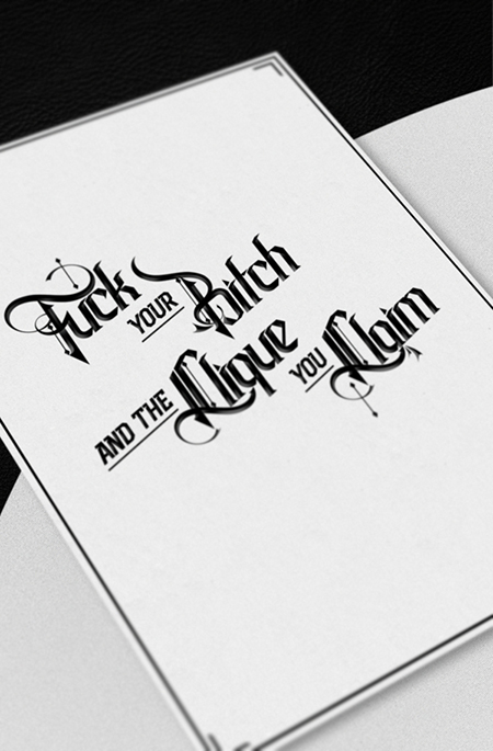 Los proyectos tipográficos de Adrian Iorga