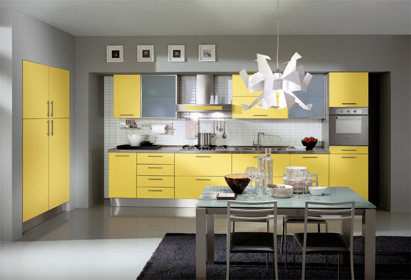 design Fresh Colors in a Kitchen