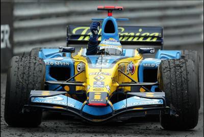 Fernando Alonso, piloto de Formula 1 em Renault - omelhordaformula1.blogspot.com