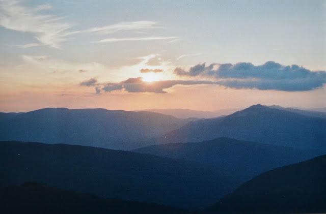 Bieszczady. Szlak Tarnica - Muczne