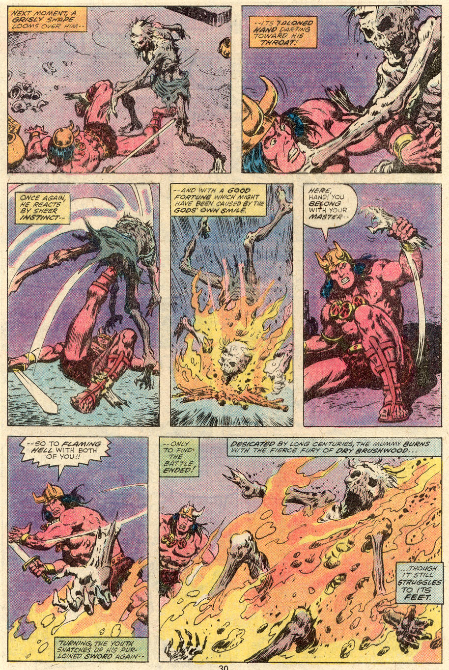 Conan the Barbarian (1970) Issue #92 #104 - English 17