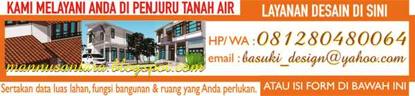 Kami Melayani Anda dalam Desain / We Serve You in Building Design