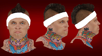 NBA 2K13 Chris Andersen Cyberface Patch Mod