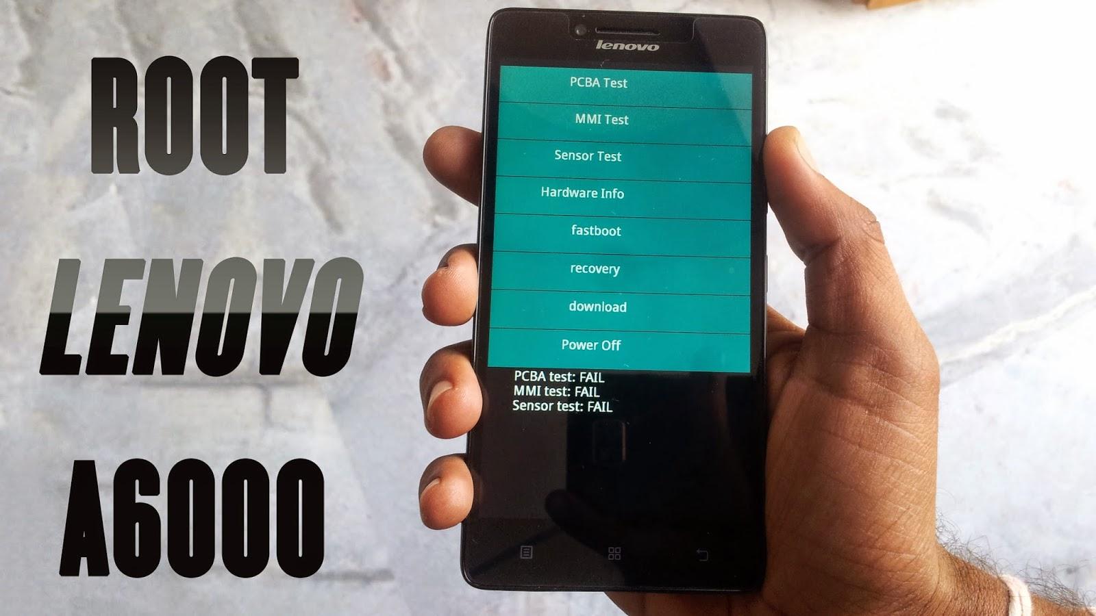 CARA ROOT+INSTAL CWM MUDAH LENOVO A6000