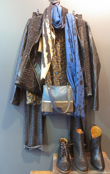 Silhouette foulard Mii veste Pyrus and more ...