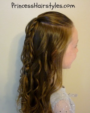 long braided hairstyle