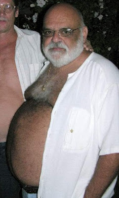 hairy chest - beard  - silvermen