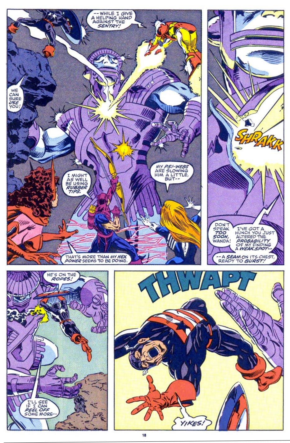 Captain America (1968) Issue #398b #332 - English 15
