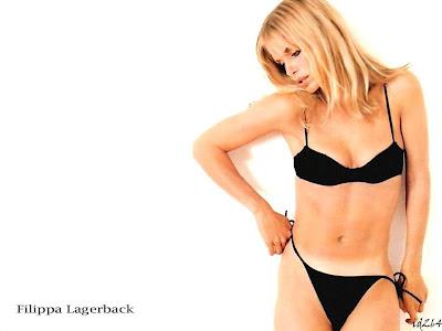 Filippa Lagerback Bikini Wallpaper