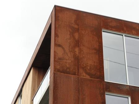 Corten Steel As Building Material Kala House