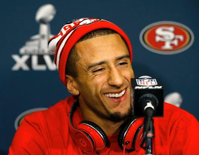 Off to the Super Bowl but is the 49ers QB Colin Kaepernick up to the challenge?