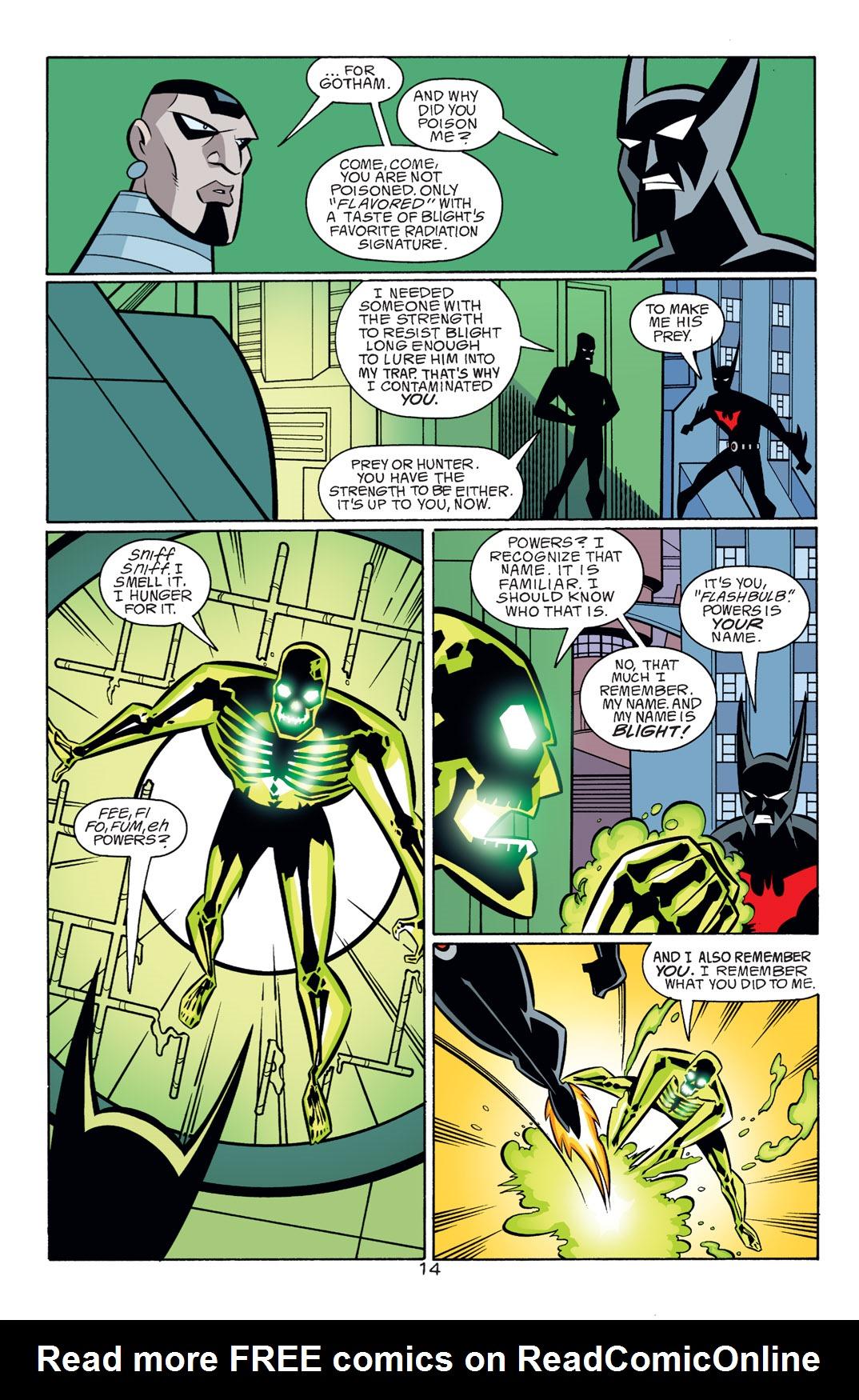 Batman Beyond [II] Issue #18 #18 - English 15