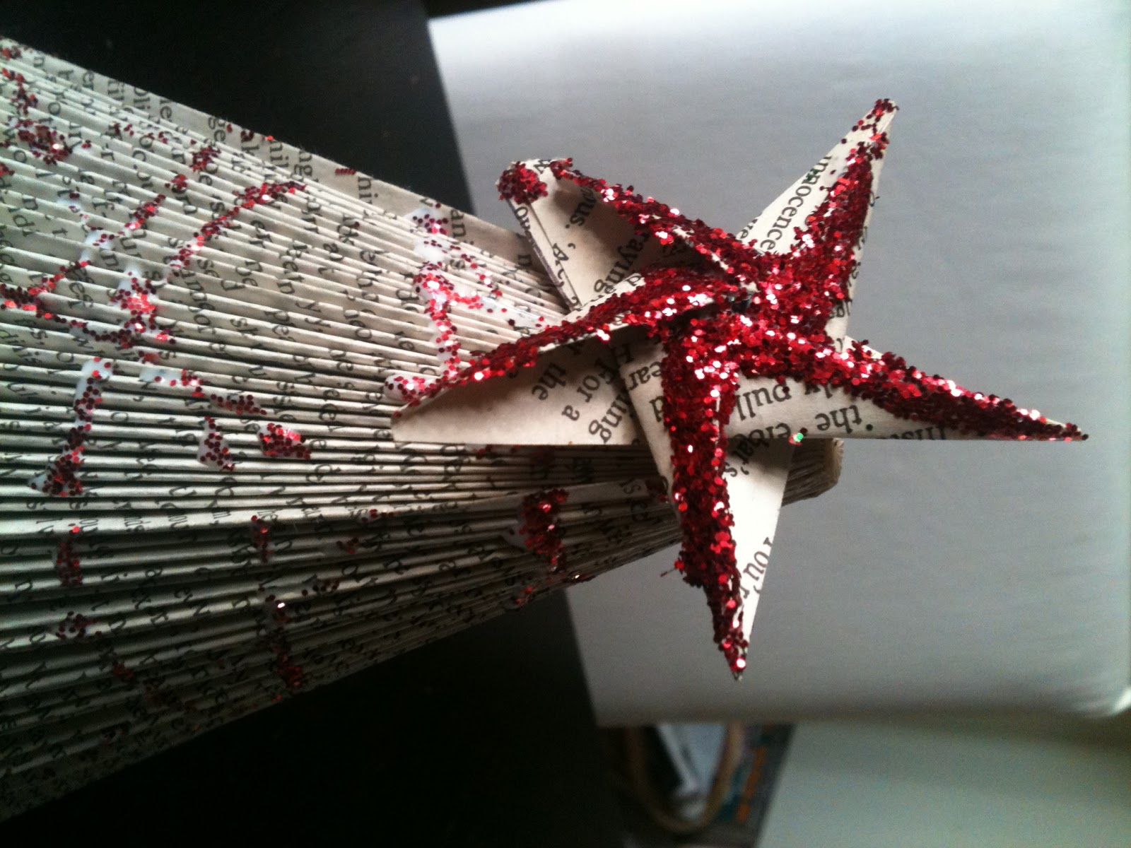 Five Go Blogging How To Make Angels And Christmas Trees From A
