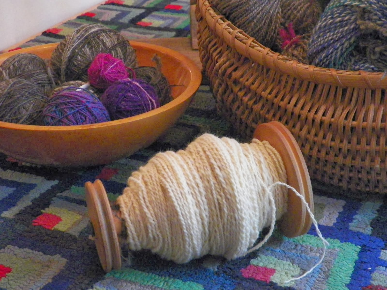 My Etsy ~Hand-Spun Yarn From My Shop