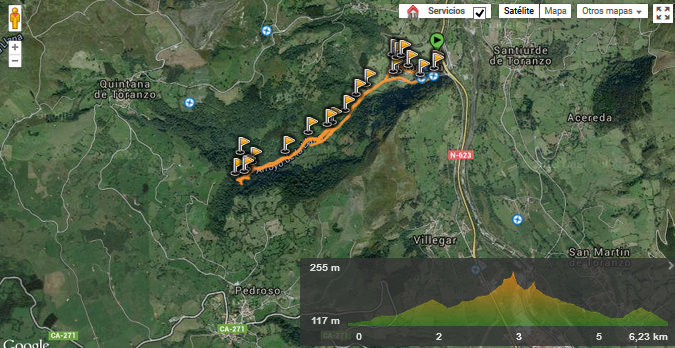 Cascada:El Churron de Borleña