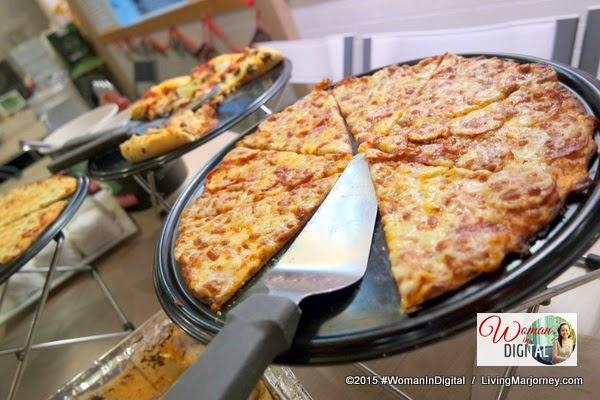 7 Cheese Pizza #WomanInDigital Launch