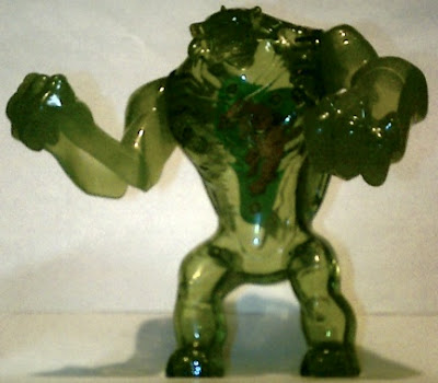 Ultimate Humungousaur action figure from McDonald's Ben 10 Ultimate Alien Happy Meal