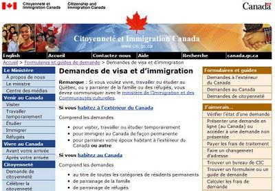 processus traitement dossier immigration federal