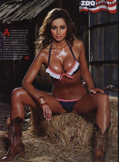 Sexy Model Krystal Forscutt