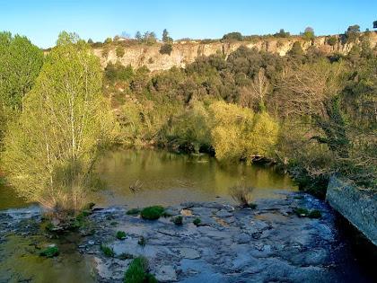 El riu Ter des del Pont del Pelut