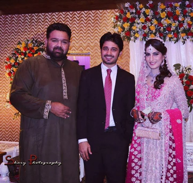 Babar Khan & Sana Khan wedding pictures