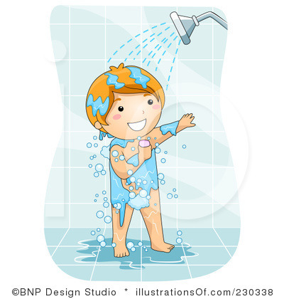 Take Shower Clip Art 8.00 have me time showering,