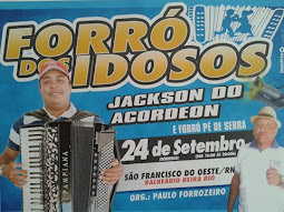 TRADICIONAL FORRÓ DOS IDOSOS!