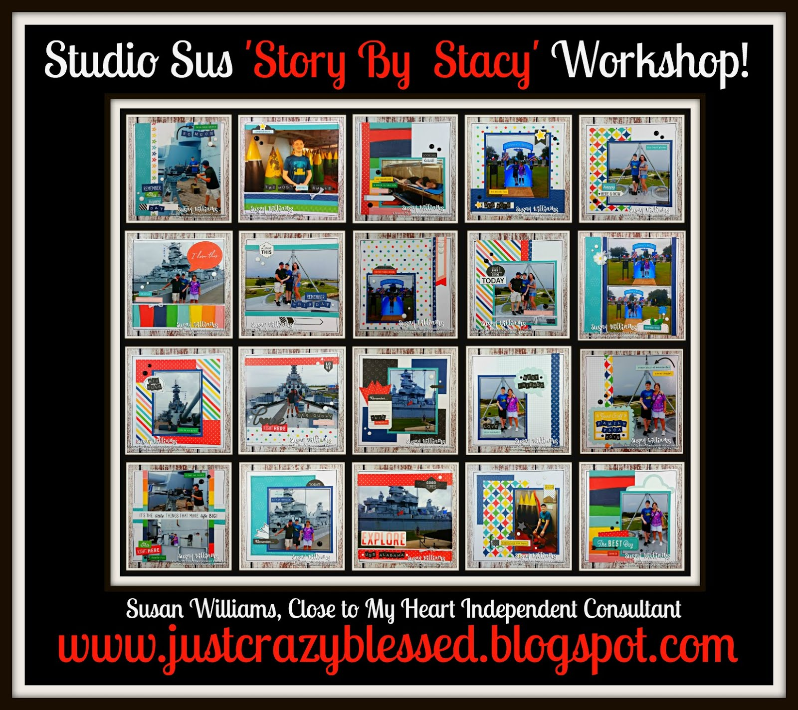 'Story By Stacy' Mini Album Workshop!