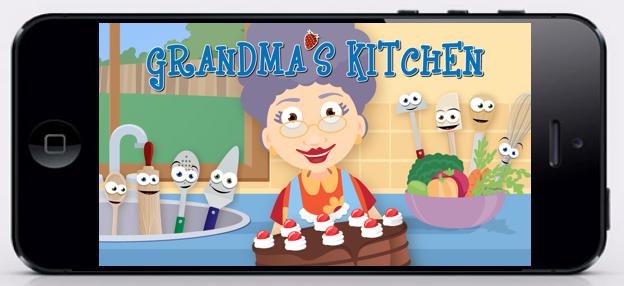 Grandma's Kitchen app