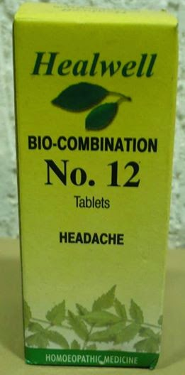 bio-combination no.12 for headache
