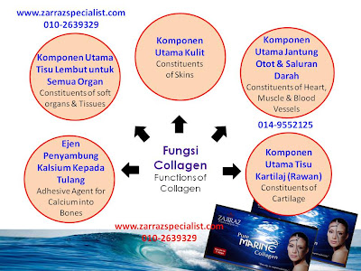 collagen zarraz, pure marine collagen zarraz paramedical, collagen dari ikan, triple helix collagen
