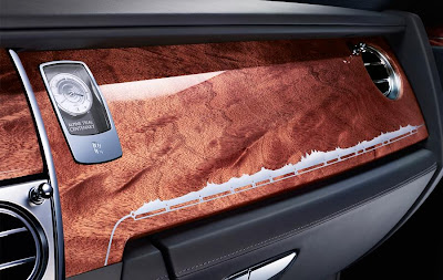 Rolls-Royce Ghost Alpine Trial Centenary Collection (2013) Dashboard