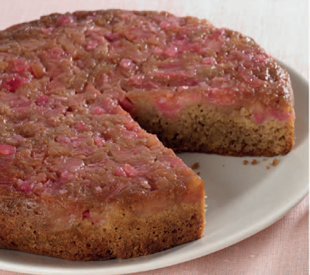 Luxury Recipe: Rhubarb and Ginger Recipe Upside Down Cake