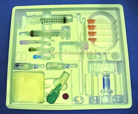Bao bì dược phẩm - Khay vỉ nhựa
